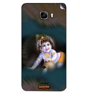 Instyler Mobile Skin Sticker For Micromax Canvas Nitro A310 MSMMXCANVASNITROA310DS-10088 CM-1688