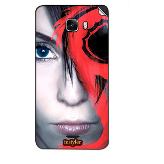 Instyler Mobile Skin Sticker For Micromax Canvas Nitro A310 MSMMXCANVASNITROA310DS-10111 CM-1711