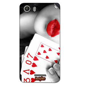 Instyler Mobile Skin Sticker For Micromax Canvas Spark 2Q334 MSMMXCANVASSPARK2Q334DS-10106 CM-1226