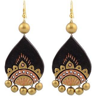 Terracotta Large Earring