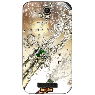 Instyler Mobile Skin Sticker For Micromax Canvas Juice 2Aq5001 MSMMXCANVASJUICE2AQ5001DS-10148 CM-3668