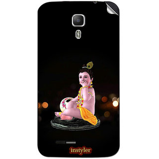 Instyler Mobile Skin Sticker For Micromax Canvas Juice A77 MSMMXCANVASJUICEA77DS-10084 CM-3444