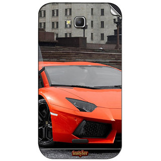 Instyler Mobile Skin Sticker For Micromax Canvas La108 MSMMXCANVASLA108DS-10027 CM-2587
