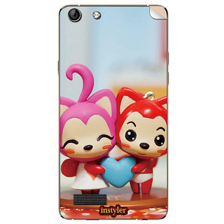 Instyler Mobile Skin Sticker For Micromax Canvas Hue Aq5000 MSMMXCANVASHUEAQ5000DS-10065 CM-3745