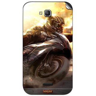 Instyler Mobile Skin Sticker For Micromax Canvas La108 MSMMXCANVASLA108DS-10036 CM-2596