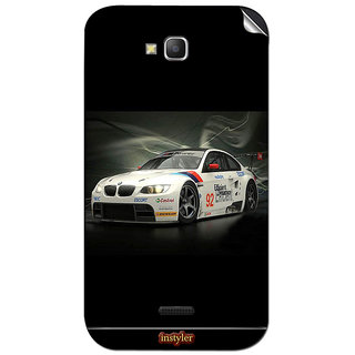 Instyler Mobile Skin Sticker For Micromax Canvas La108 MSMMXCANVASLA108DS-10037 CM-2597