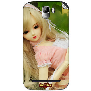 Instyler Mobile Skin Sticker For Micromax Canvas Enticea105 MSMMXCANVASENTICEA105DS-10073 CM-4713