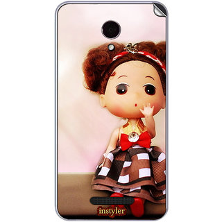 Instyler Mobile Skin Sticker For Micromax Canvas Dooble 4Q391 MSMMXCANVASDOODLE4Q391DS-10062 CM-5022