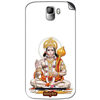Instyler Mobile Skin Sticker For Micromax Canvas Enticea105 MSMMXCANVASENTICEA105DS-10100 CM-4740