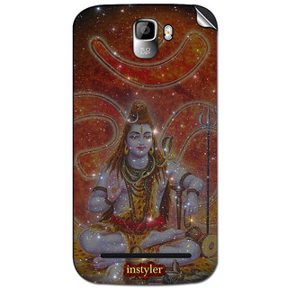 Instyler Mobile Skin Sticker For Micromax Canvas Enticea105 MSMMXCANVASENTICEA105DS-10102 CM-4742