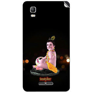 Instyler Mobile Skin Sticker For Micromax Canvas Dooble 3A102 MSMMXDOODLE3A102DS-10084 CM-5204