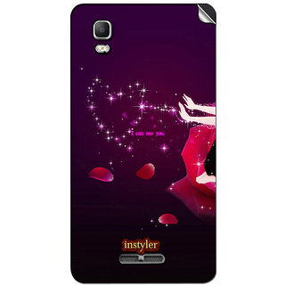 Instyler Mobile Skin Sticker For Micromax Canvas Dooble 3A102 MSMMXDOODLE3A102DS-10114 CM-5234
