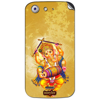 Instyler Mobile Skin Sticker For Micromax Canvas 4A210 MSMMXCANVAS4A210DS-10103 CM-5703