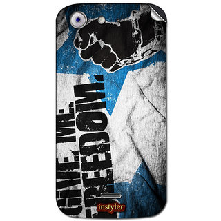 Instyler Mobile Skin Sticker For Micromax Canvas 4A210 MSMMXCANVAS4A210DS-10154 CM-5754