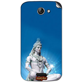 Instyler Mobile Skin Sticker For Micromax Canvas Elanga 2A121 MSMMXCANVASELANZA2A121DS-10101 CM-4901