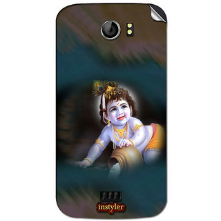 Instyler Mobile Skin Sticker For Micromax Canvas 2A110 MSMMXCANVAS2A110DS-10088 CM-6008
