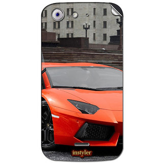 Instyler Mobile Skin Sticker For Micromax Canvas 4A210 MSMMXCANVAS4A210DS-10027 CM-5627