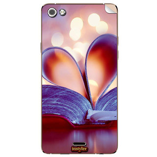 Instyler Mobile Skin Sticker For Micromax Canvas 5E481 MSMMXCANVAS5E481DS-10123 CM-5563