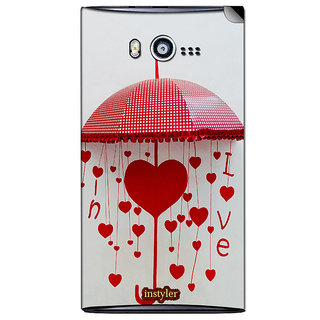 Instyler Mobile Skin Sticker For Micromax Bolt A075 MSMMXBOLTA075DS-10124 CM-6524
