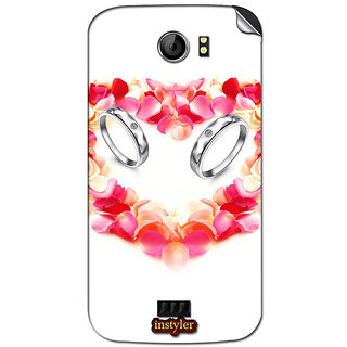 Instyler Mobile Skin Sticker For Micromax Canvas 2Plus A110Q MSMMXCANVAS2A110QDS-10112 CM-5872