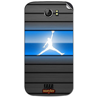 Instyler Mobile Skin Sticker For Micromax Canvas 2Plus A110Q MSMMXCANVAS2A110QDS-10141 CM-5901