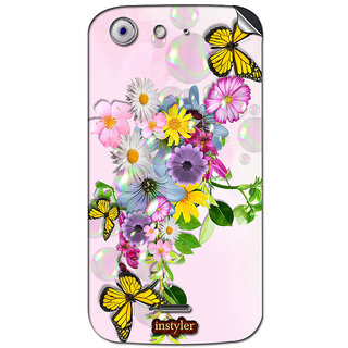 Instyler Mobile Skin Sticker For Micromax Canvas 4A210 MSMMXCANVAS4A210DS-10046 CM-5646