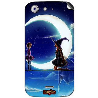 Instyler Mobile Skin Sticker For Micromax Canvas 4A210 MSMMXCANVAS4A210DS-10050 CM-5650
