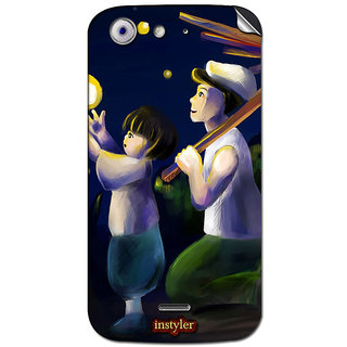 Instyler Mobile Skin Sticker For Micromax Canvas 4A210 MSMMXCANVAS4A210DS-10051 CM-5651