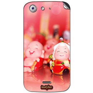 Instyler Mobile Skin Sticker For Micromax Canvas 4A210 MSMMXCANVAS4A210DS-10064 CM-5664