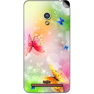 Instyler Mobile Skin Sticker For Asus Zenfone 5 MSASUSZF5DS-10042 CM-7242