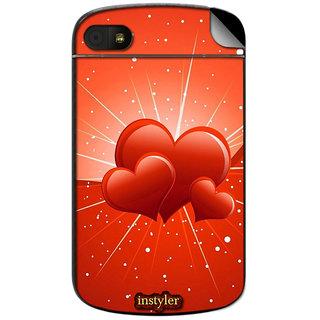 Instyler Mobile Skin Sticker For Blackberry Q10 MSBBQ10DS-10117 CM-6837