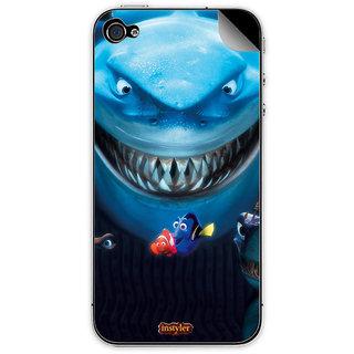 Instyler Mobile Skin Sticker For Apple I Phone 5S MSIP5SDS-10054 CM-9014