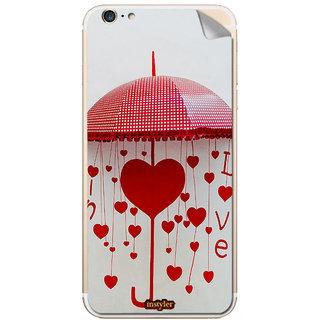 Instyler Mobile Skin Sticker For Apple I Phone 6Splus MSIP6SPLUSDS-10124 CM-8124