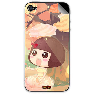 Instyler Mobile Skin Sticker For Apple I Phone 5S MSIP5SDS-10058 CM-9018