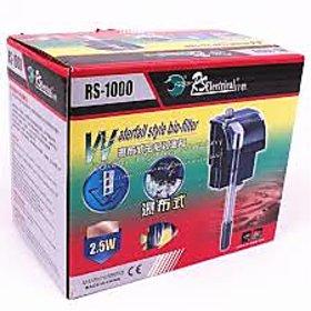 Rs 1000 hanging filter 600 L/H(Aquarium fish tank purpose)