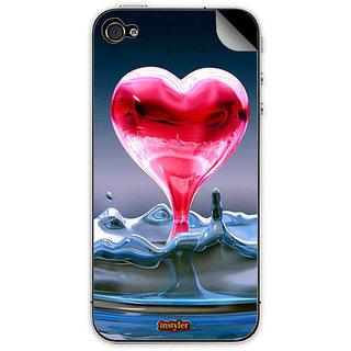 Instyler Mobile Skin Sticker For Apple I Phone 4S MSIP4SDS-10120 CM-9560