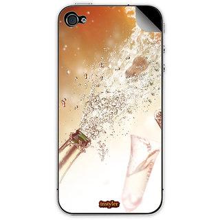 Instyler Mobile Skin Sticker For Apple I Phone 4S MSIP4SDS-10147 CM-9587