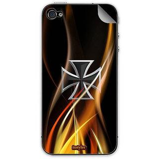Instyler Mobile Skin Sticker For Apple I Phone 4S MSIP4SDS-10155 CM-9595