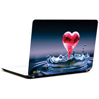 Pics And You Abstract Pink Heart 3M/Avery Vinyl Laptop Skin Sticker Decal-LV0052