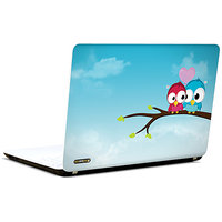 Pics And You Love Birds Animated 3M/Avery Vinyl Laptop Skin Sticker Decal-LV024