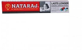 Nataraj 621 Hexagonal Shaped Pencils(Set of 10, Red-Black)