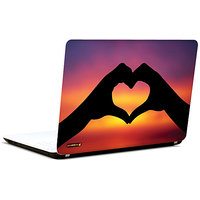 Pics And You Heart With Hands 3M/Avery Vinyl Laptop Skin Sticker Decal-LV082