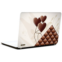 Pics And You Chocolate Heart Love 3M/Avery Vinyl Laptop Skin Sticker Decal-LV076