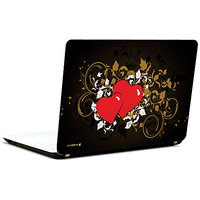 Pics And You Abstract Red Heart 3M/Avery Vinyl Laptop Skin Sticker Decal-LV077