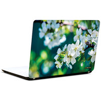 Pics And You Whimsical White 3M/Avery Vinyl Laptop Skin Sticker Decal - FL023