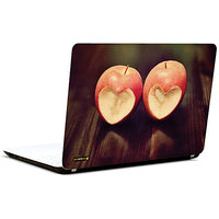Pics And You Heart In Apples 3M/Avery Vinyl Laptop Skin Sticker Decal-LV056