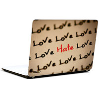 Pics And You Love Heart Love 3M/Avery Vinyl Laptop Skin Sticker Decal-LV110