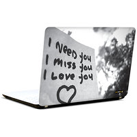 Pics And You Love Thought 3 3M/Avery Vinyl Laptop Skin Stickert Decal-LV102