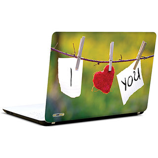 Pics And You I Love You 2 3M/Avery Vinyl Laptop Skin Sticker Decal-LV086