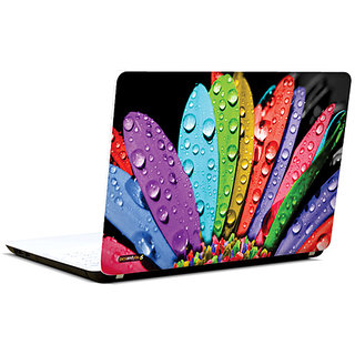 Pics And You Rainbow Rays 3M/Avery Vinyl Laptop Skin Sticker Decal - FL039